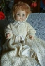 F&B Tommy Tucker 1940 (Same doll as Sweetie Pie               which had molded hair)